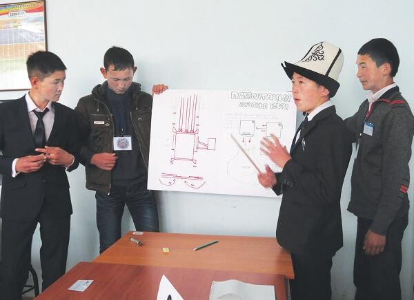 «Мы – интеллектуалы XXI века» - это уникальный конкурс, не имеющий аналогов в Кыргызстане