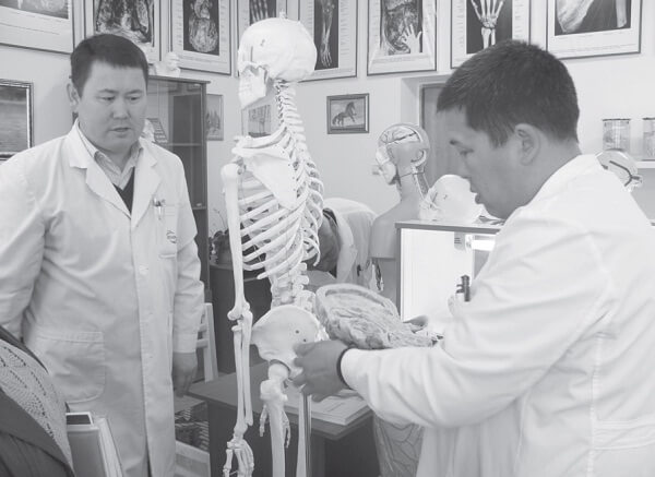 ОшМУнун медицина факультети жаңыланууда