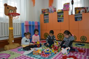 ДОШКОЛЬНЫМ ОБРАЗОВАНИЕМ ОХВАЧЕНО ПОРЯДКА 10 ТЫСЯЧ ДЕТЕЙ
