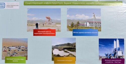 ЖАПАРОВ ПОСЕТИЛ «ВЕРХНЕ-НАРЫНСКИЙ КАСКАД ГЭС»
