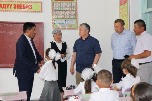 МИНИСТР БОЛОТБЕК КУПЕШЕВ ИШ САПАРЫ МЕНЕН БАТКЕН ОБЛУСУНА БАРДЫ